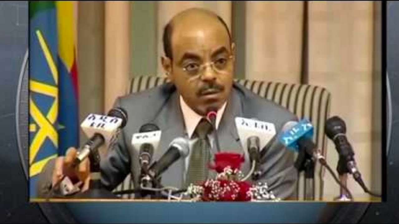 The Late PM Meles Zenawi Speaking about GIbe