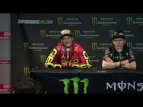 250SX Post Race Press Conference - Second Round in Anaheim - Race Day LIVE 2018