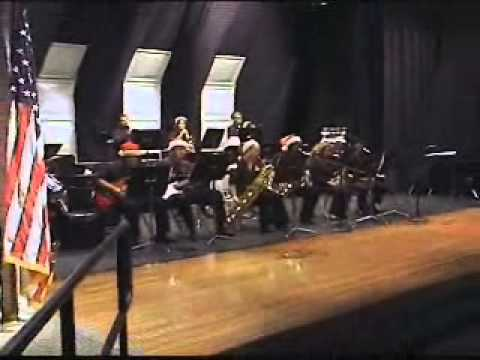 2012 Platte Valley High School Jazz Band Christmas Concert