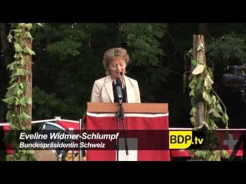 BDP Videonews mit Bundespräsidentin Eveline Widmer-Schlumpf