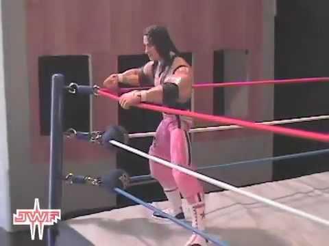 Bret Hart vs. Kurt Angle (Stop-Motion) - JWF Pay Per View 2011