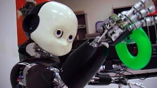 Watch Teaching Bert: iCub Robot Learns About the World