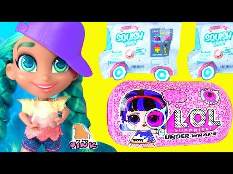 КУКЛА ЛОЛ и ее СТАРШАЯ СЕСТРА! #LOL Surprise Baby Doll GOING on VACATION! SQUISHY SWEETS Распаковка
