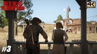 Red Dead Redemption - Xbox One X Gameplay Playthrough 4K 2160p - PART 3
