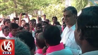 Narsapur Congress Leaders Joins TRS In The Presence Of Harish Rao | Hyderabad