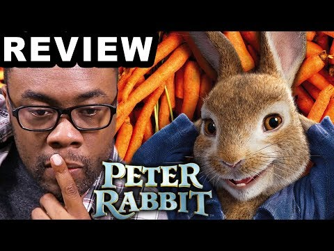 PETER RABBIT Movie Review + Peter's Following Me?? (Black Nerd)