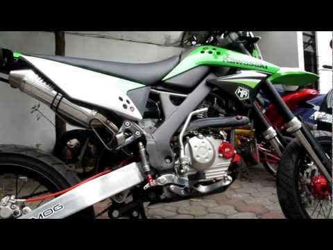 TNHM exhaust for KLX 150 / D-Tracker 150