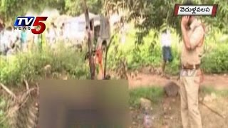 Vijayanagaram - Wife Burns Husband Alive In Vijayanagaram : TV5 News