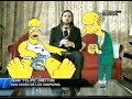video de musica Homero Simpson y El Señor Burns en CQC