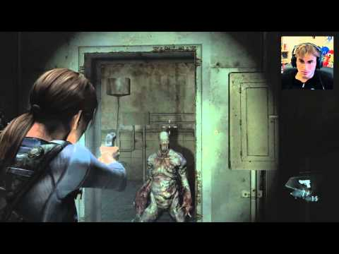 Resident Evil Revelations - Com Facecam no Wii U (Demo)