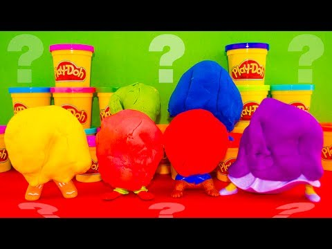 Alvin & The Chipmunks Play Doh Surprise Game Toys Dora Princess Fiona Wolverine Avengers Kinder video
