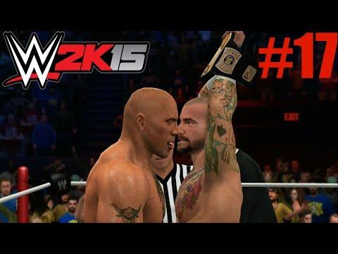Wwe 2k15 2k Showcase - The Rock Vs Cm Punk Royal Rumble 2013 (hustle, Loyalty, Disrespect Part 17) video