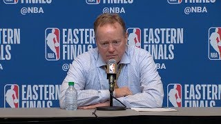Mike Budenholzer Postgame Interview - Game 2 | Raptors vs Bucks | 2019 NBA Playoffs