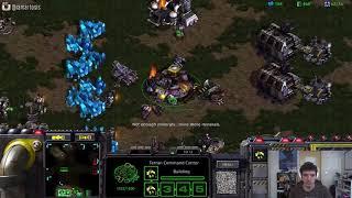 StarCraft Remastered 1v1 Artosis' Games of SC:R (T) vs bu)mood(du (P) Python