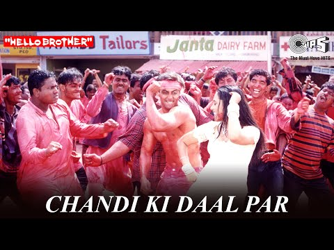 Chandi Ki Daal Par - Hello Brother | Salman Khan & Rani Mukherjee | Salman Khan & Alka Yagnik video