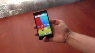 Обзор Prestigio Grace Q5. Дешевый смартфон 2016 г.