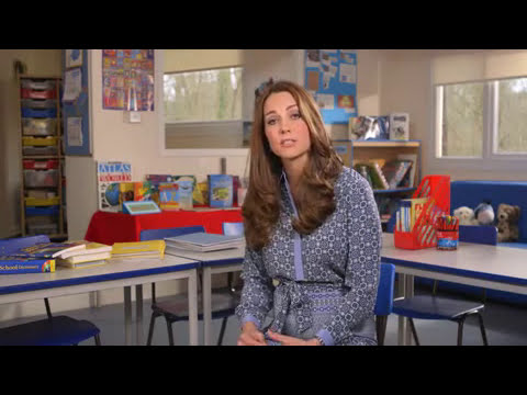 Kate Middleton records video message in support for Place2Be