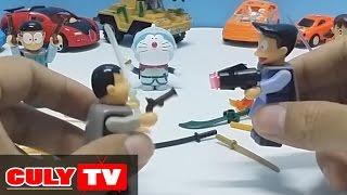 Đồ chơi Doremon - bộ sưu tập vũ khí tí hon |  doraemon toy for kids , lego mini weapon colection