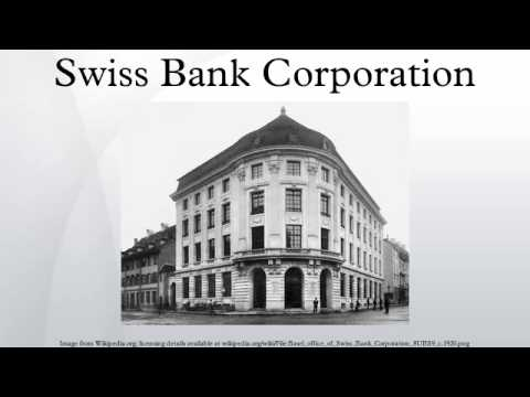 Swiss Bank Corporation