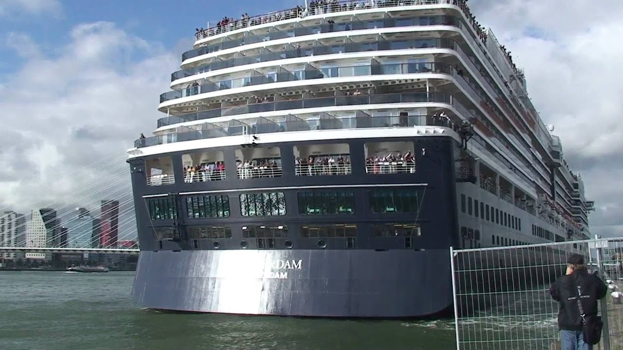 Cruise Ship Quot Westerdam Quot Sail Away From Rotterdam To
