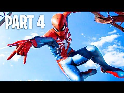 Spider Man PS4 Walkthrough Part 4 (Marvel's Spider-Man PS4 Pro Gameplay)