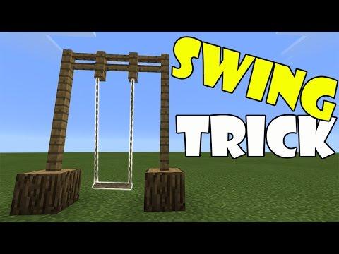 SWING TRICK | Minecraft PE (Pocket Edition) MCPE