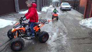 СУПЕР- КВАДРИКИ... New Super Car Ride On POWER WHEEL Car...