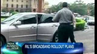 CNBC-TV18: INDIA BUSINESS HOUR_ RELIANCE INDUSTRIES GUNS FOR 4G WIRELESS BROADBAND