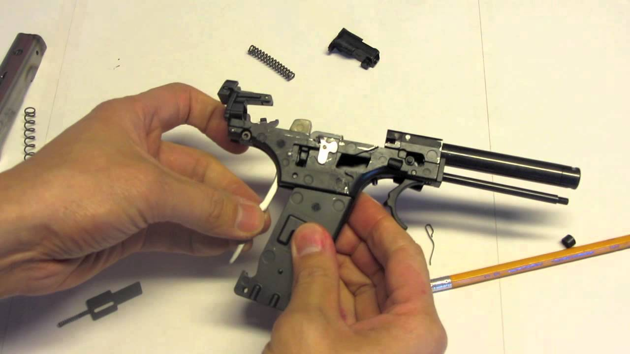 Walther Sp22 M1 Modifications  1 Of 2