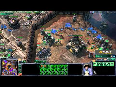 StarCraft 2 - 5v5 Fan Game - Commentary