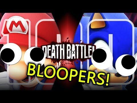 Mario VS Sonic Bloopers!