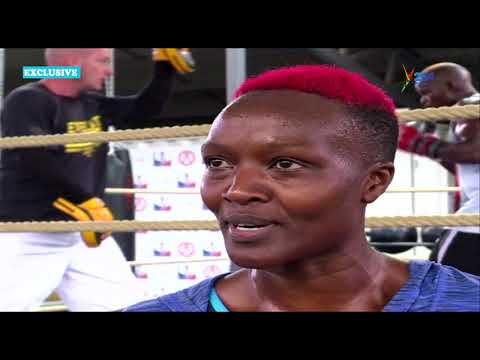 Judy Waguthii: Growing up in Ghetto inspired me to start loving Boxing