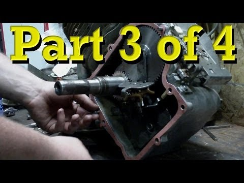 Briggs and Stratton Power Built 12.5 HP Flathead Model 28 Rebuild. Teardown / Reassembly PART 3