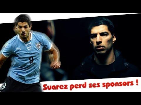 Luis Suarez lâché par ses sponsors !