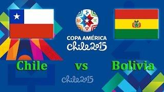 FIFA 15 | Copa America 2015 - Group A | Chile - Bolivia