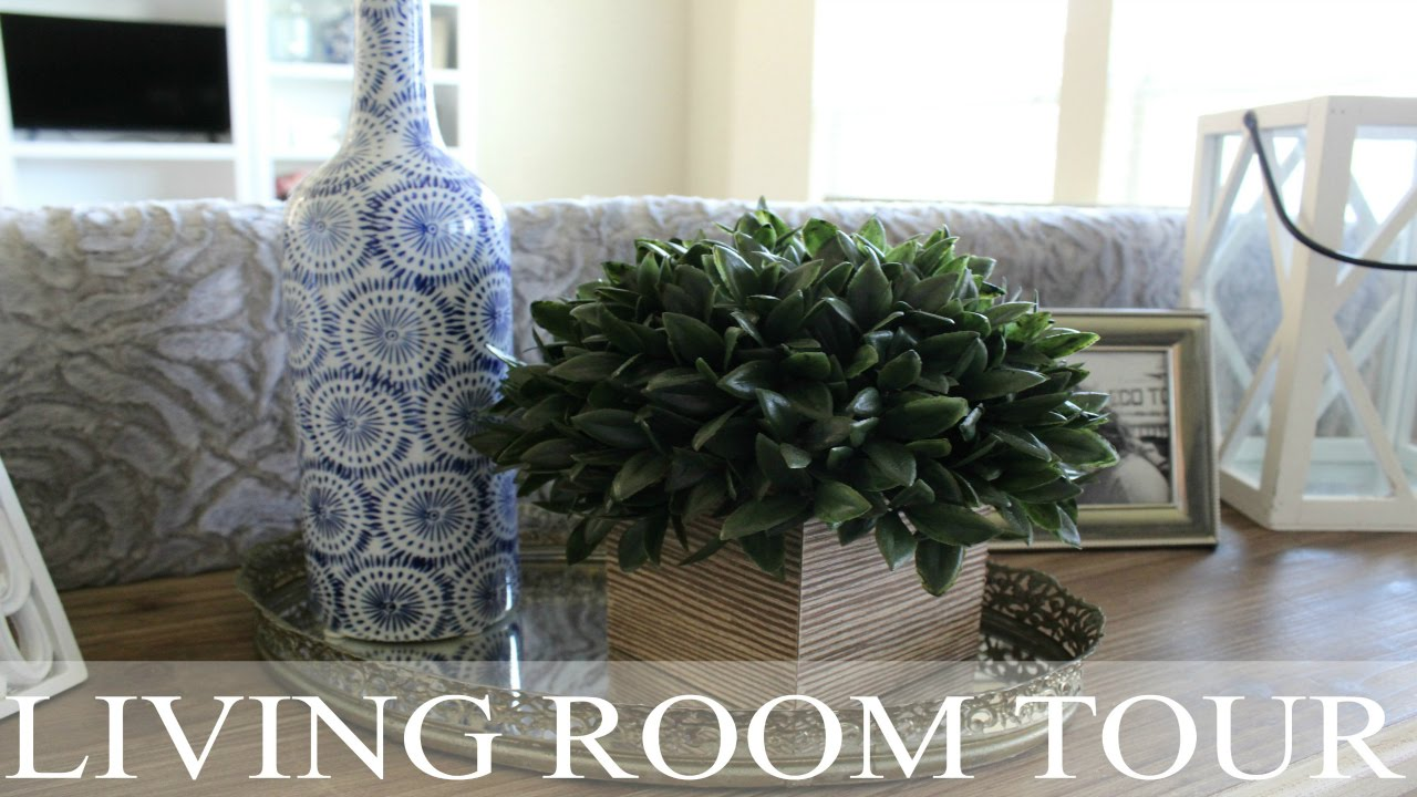 HOUSE TOUR | Foyer & Living Room Tour | Decor Tips + Ideas | Rustic Chic