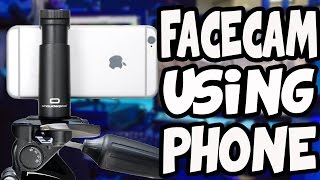 HOW TO Use Phone as FaceCam (Recording & Editing)