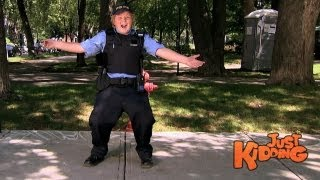 Fake Police Officer Tricks Drivers - Just Kidding Prank