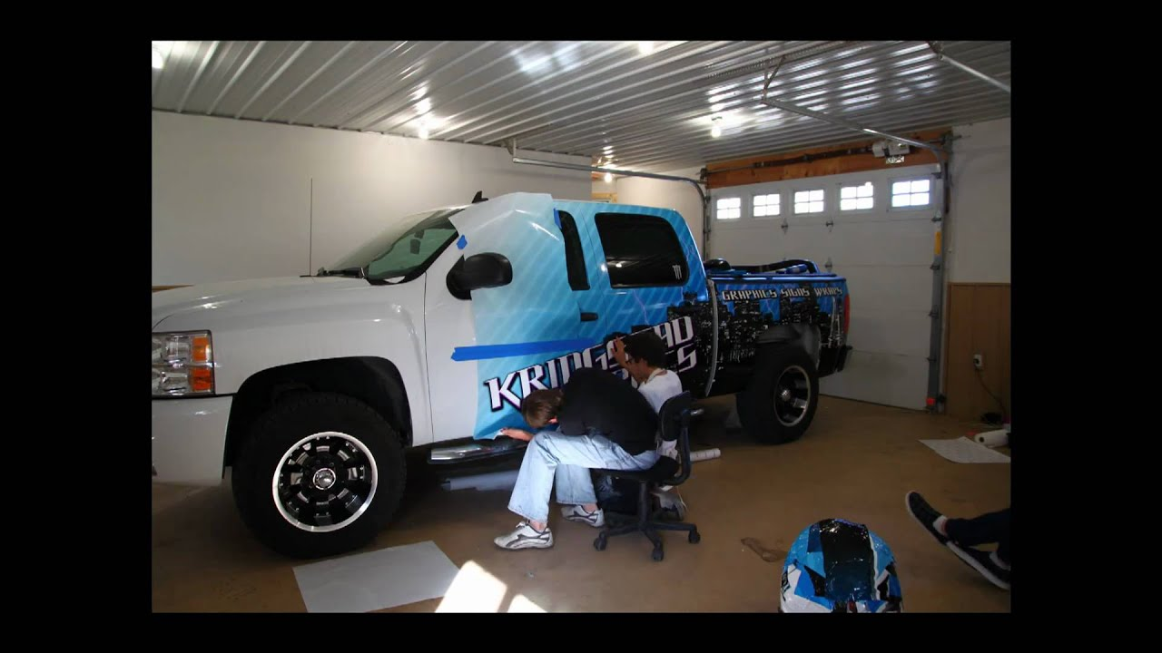 Vehicle Graphics Wrap Install Time Lapse Youtube