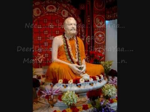 Sri Ramakrishna  Arti Song~ Khandana-bhava Bandhana~sung By Swami Purushottamanandaji video
