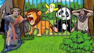 ÍNDIO KAUE E O CAÇADOR QUE PRENDEU OS ANIMAIS DA FLORESTA