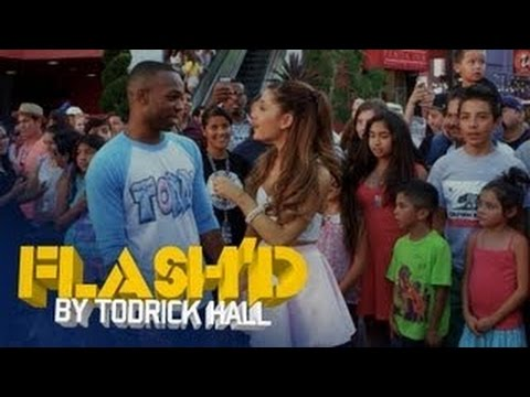 Ariana Grande gets Flash'd