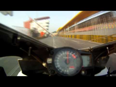 Macau GP - SBK Onboard Sean Dwyer - Morn. W-up