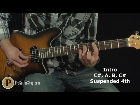 Van Halen - Unchained Guitar Lesson