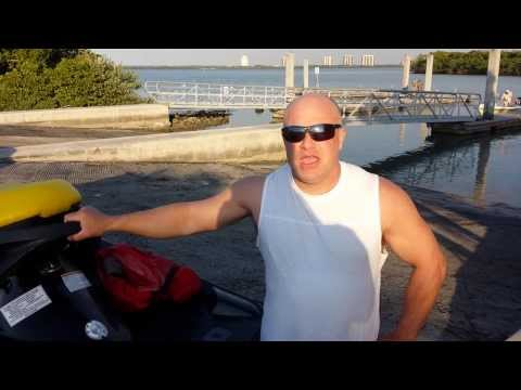 RentaSeadoo com review  Lovers Key Jet ski rental customer testimonial