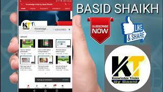 How to make channel logos like technical guruji knowledge tricks by basid Shaikh