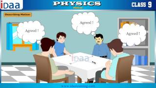 Describing Motion – Physics Cbse Class 9