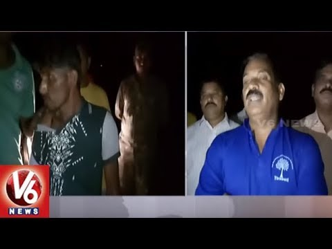 Task Force Police Nab Red Sander Smuggler In Tirumala | Tirupati | V6 News