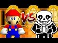 "Mario VS Sans Battle ""Animation"" [FR]"