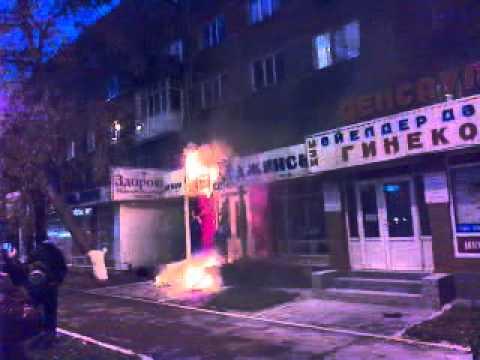 Магазин Джинсов Пожар пр.Республики Астана Part 2